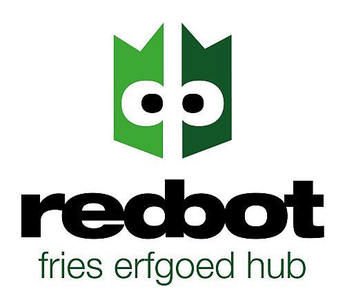 RedBot logo ontwerp communicatiebureau Maalstroom